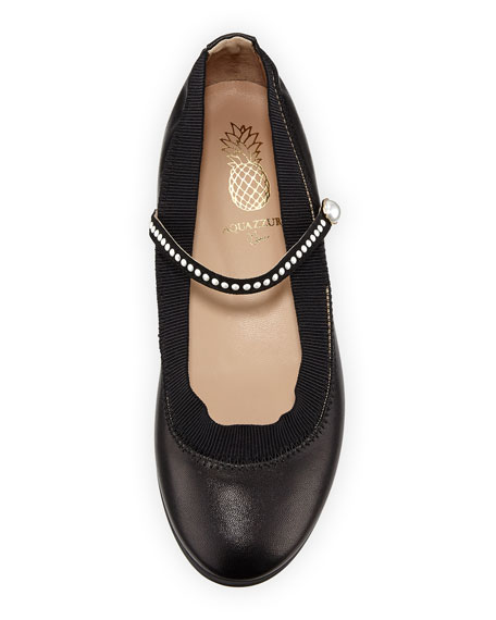 Nolita Pearly Ballerina Flat, Youth