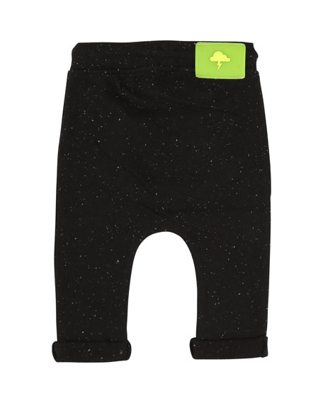 Speckled Sweatpants w/ Kangaroo Pocket, Size 2-3