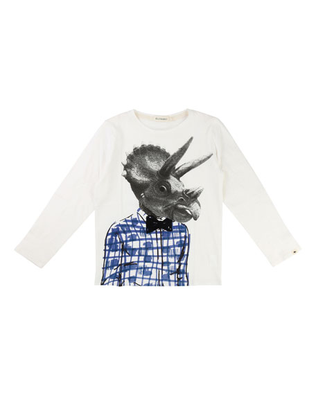 Dino-Man Graphic T-Shirt, Size 4-8