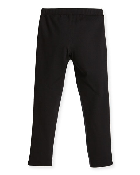 Vegan Leather Leggings, Size 4-7
