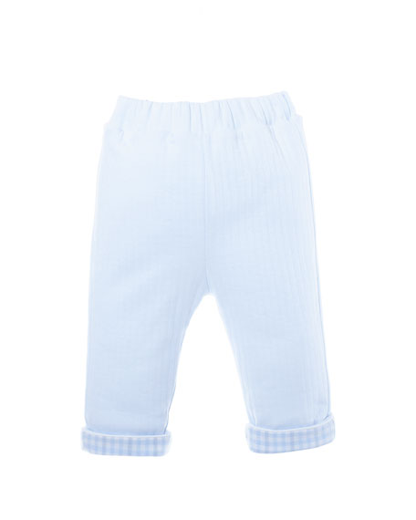 Quilted Jersey Pants, Size 3-24 Months