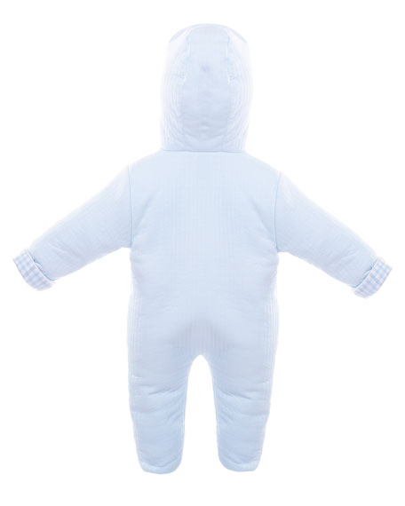 Hooded Footie Pajamas, Size 3-9 Months