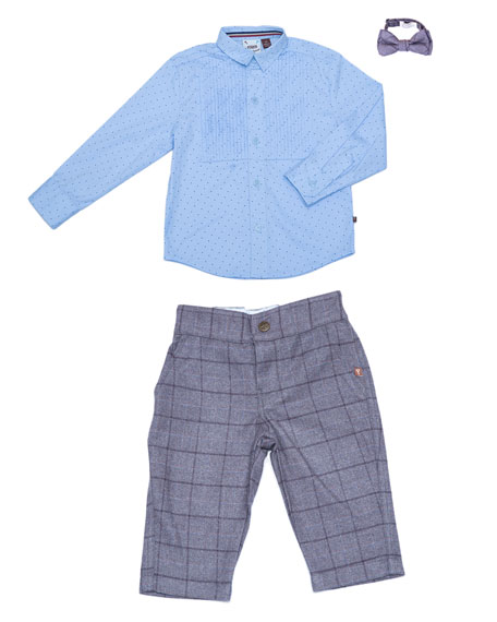 Fore Three-Piece Suit Set, Size 3-24 Months