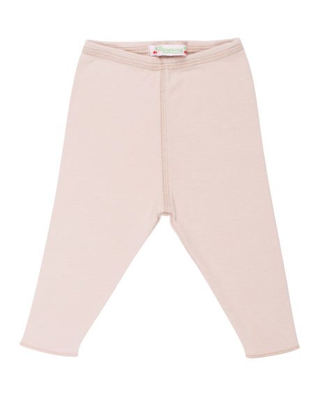 Solid Cotton Leggings, Size 3 Months-2T