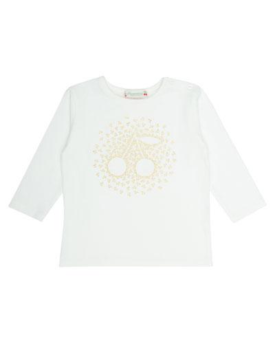 Golden Cherry T-Shirt, Size 6 Months-2T