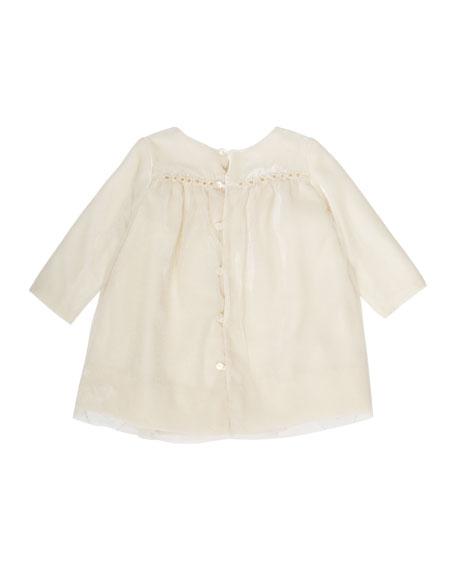 Tulle & Velvet Babydoll Dress. Size 6M-2Y