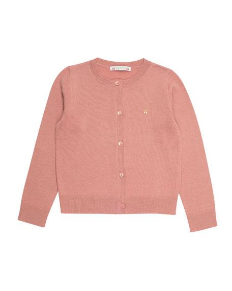 Knit Wool Cardigan, Size 3-8