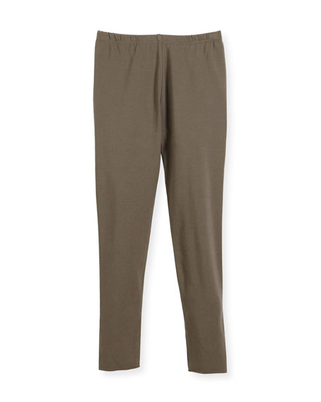 Bonpoint Cotton Leggings, Size 3-8