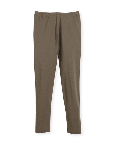 Cotton Leggings, Size 3-8