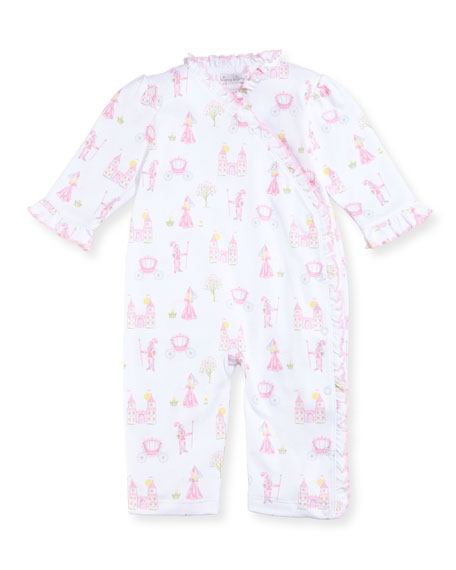 Kissy Kissy Enchanted Princess Pima Coverall, Size 9-24