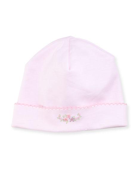 Belle Fleur Pima Baby Hat