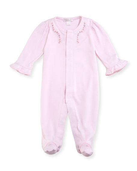 Kissy Kissy Belle Fleur Footie Pajamas, Size Newborn-9M