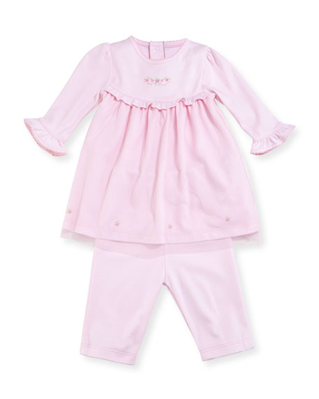 Belle Fleur Dress w/ Leggings, Size 0-18 Months