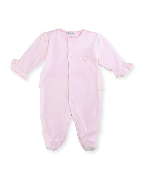 de01b6f87 Kissy Kissy Rockabye Buggy Velour Footie Pajamas