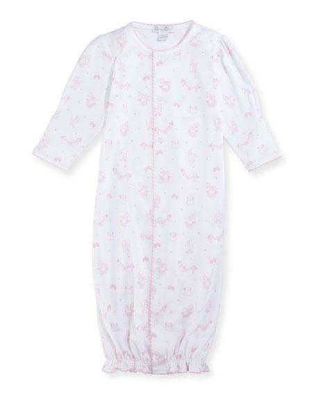 Kissy Kissy Rockabye Buggy Convertible Pima Sleep Gown,