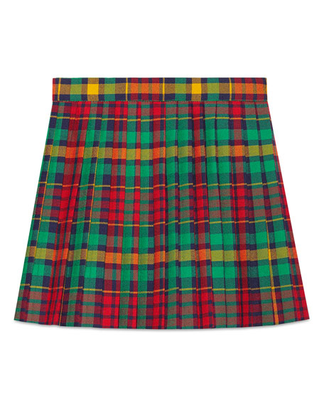 Plaid Skirt, Side 4-12