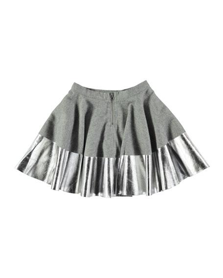 Bonita Metallic Skirt, Size 3T-14