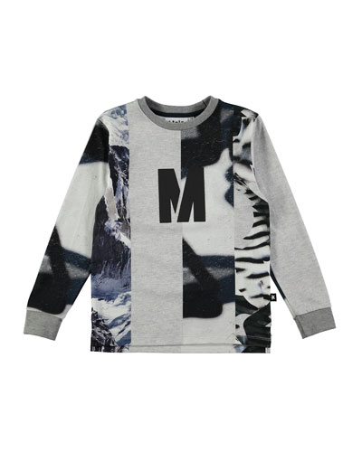 Romus Long-Sleeve T-Shirt, Size 4-12