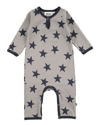 Fleming Jersey Coverall, Size 3-12 Months