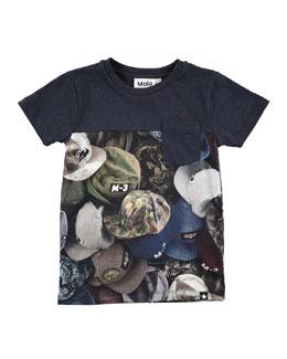Rubinsky Hat Jersey Tee, Size 4-12