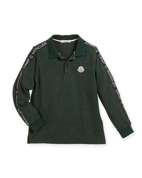 f5b20eac1 Moncler Maglia Long-Sleeve Logo Polo