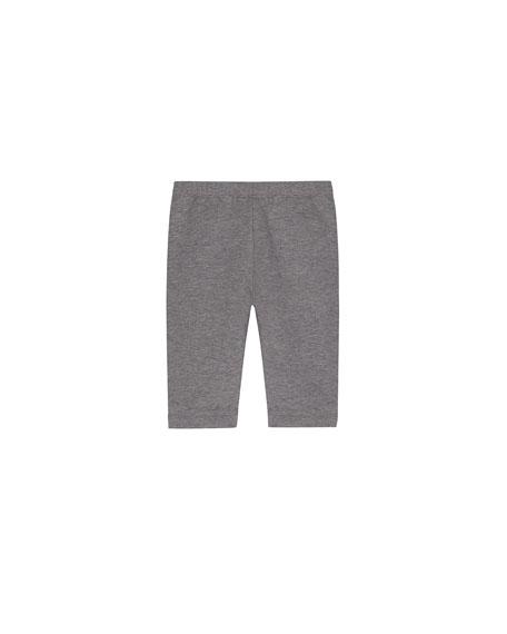 Ruffle-Hem Jacket w/ Leggings, Size 6M-3T