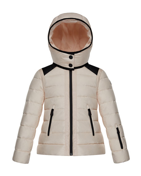 Moncler Emeraude Technical Ski Jacket, Size 4-6