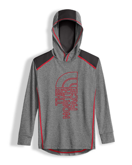 The North Face Long-Sleeve Reactor Hoodie, Boys' Size