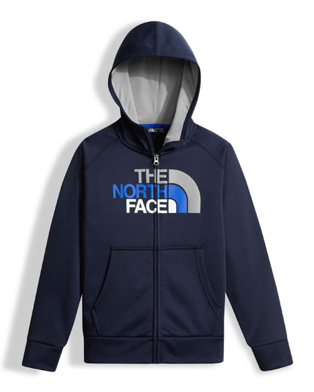 The North Face Surgent Full-Zip Hoodie, Boys' Size