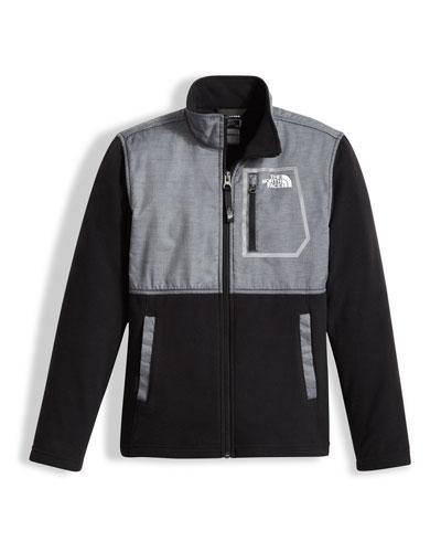 Boys' Glacier Track Jacket, Gray, Size XXS-XL