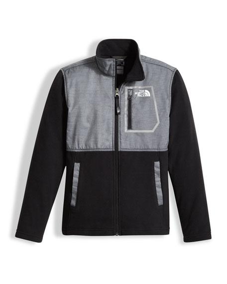 The North Face Boys' Glacier Track Jacket, Gray,