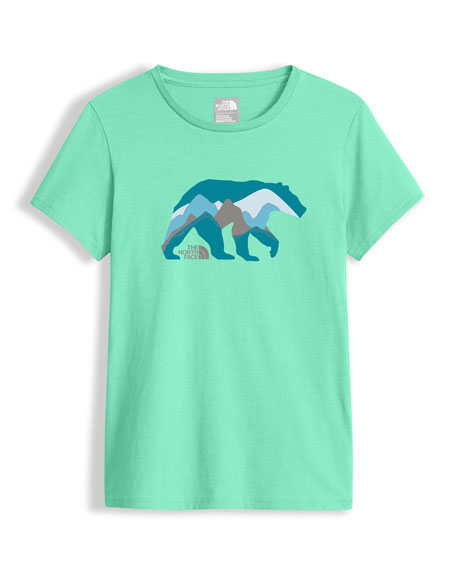 Short-Sleeve Graphic Tee, Green, Girls' Size XXS-XL