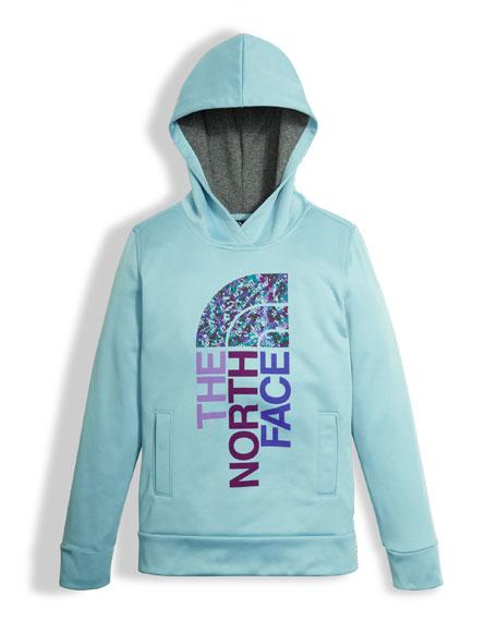 Girls' Surgent Logo Pullover Hoodie, Size XXS-XL