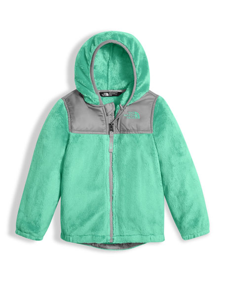 Girls' Oso Fleece Zip Hoodie, Green, Size 2-4T