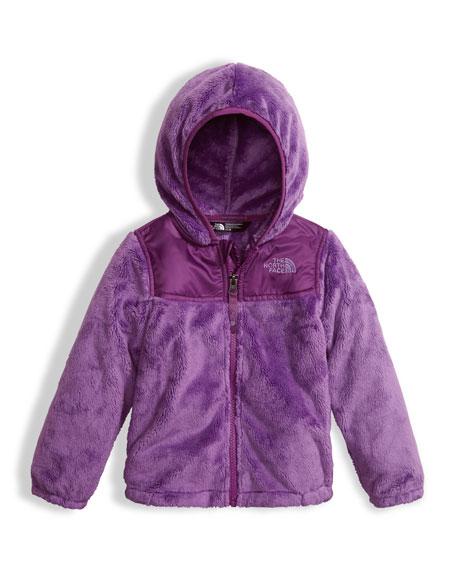 Girls' Oso Fleece Zip Hoodie, Purple, Size 2-4T