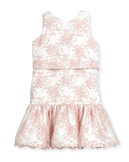 Drop-Waist Lace Dress, Size 7-14
