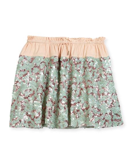 Molo Bellis Sequin Skirt, Size 3T-12