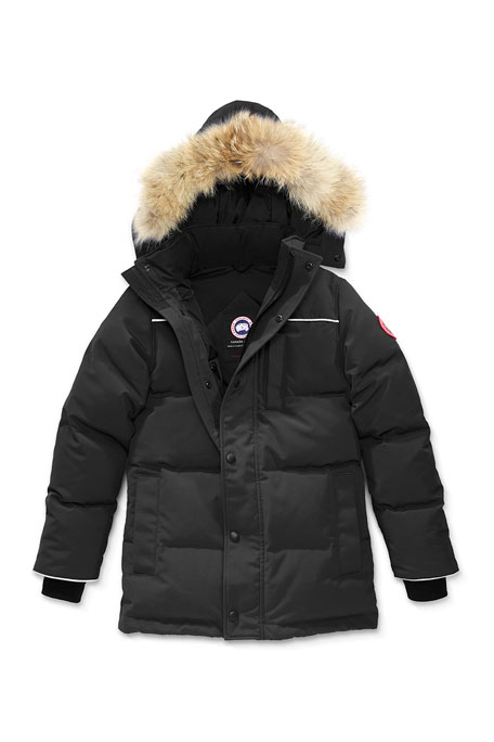 Youth Eakin Parka w/ Removable Fur Trim, XS-L