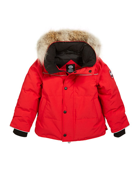 Canada Goose Kids' Snow Owl Parka w/ Removable