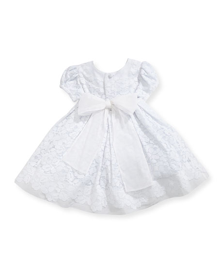 Gala Organdy Lace Dress w/ Bloomers, Size 3-24 Months