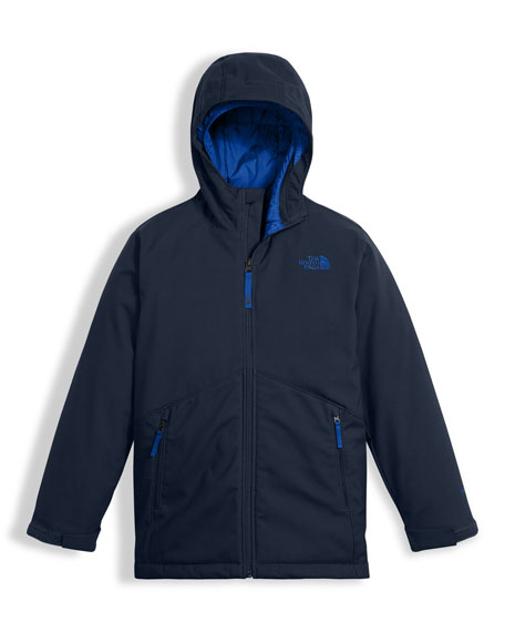 Apex Elevation Colorblock Jacket, Blue, Size XXS-XL