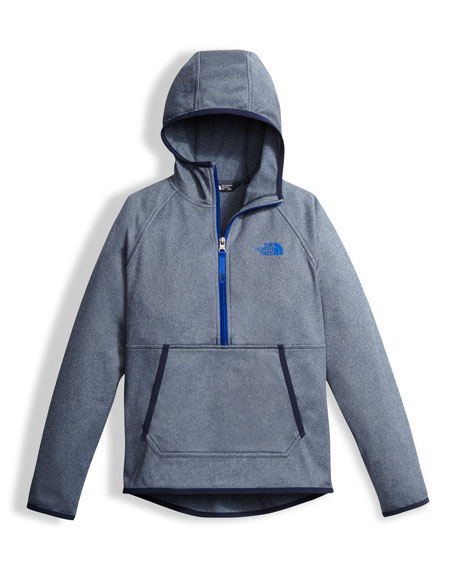 Tech Glacier Half-Zip Hoodie, Size XXS-XL