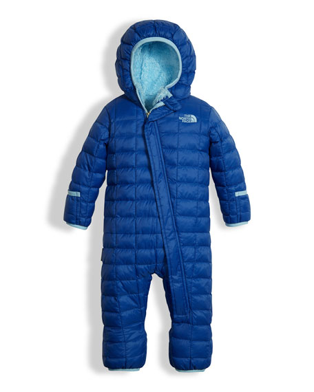 Quilted ThermoBall Bunting, Blue, Size 3-24 Months