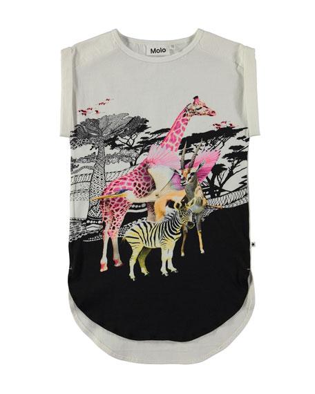Celine Safari Tunic Beach Dress, Size 3T-12