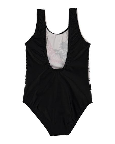 Nika One-Piece Safari Animal Swimsuit, Size 2-14