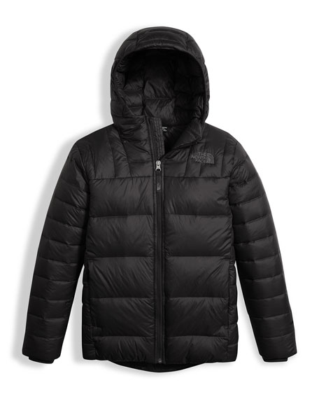 The North Face Boys' Double Down Zip-Up Hooded