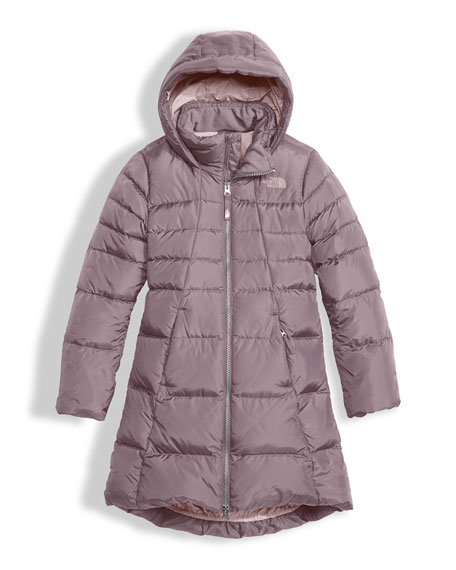 Elisa Down Parka, Gray, Size XXS-XL