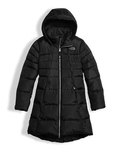 Elisa Down Parka, Black, Size XXS-XL