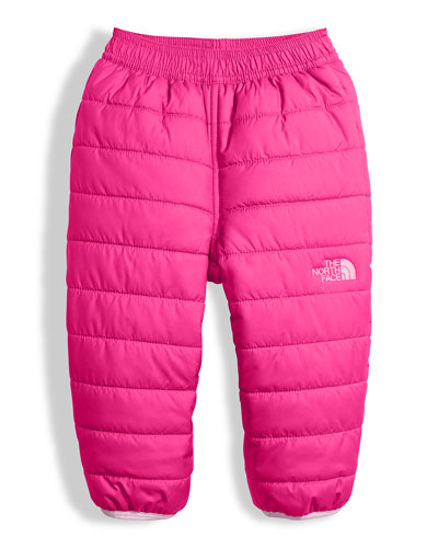 Reversible Perrito Quilted Pants, Pink, Size 3-24 Months