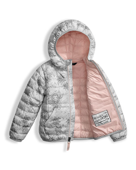 ThermoBall Hooded Jacket, White, Size 2-4T